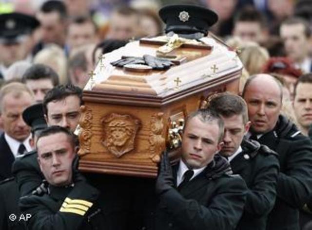 A Catholic man is killed outside of Belfast.