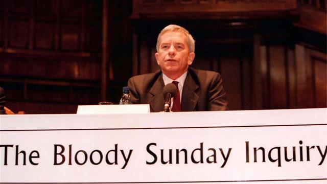 Prime Minister Tony Blair announces a new judicial inquiry
