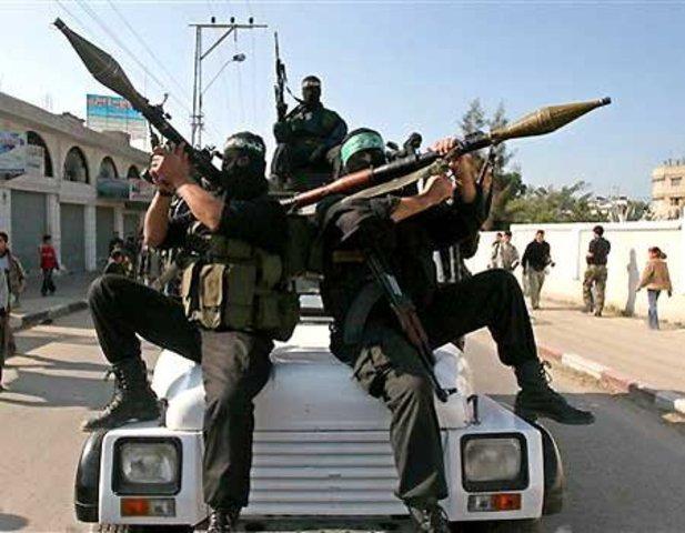 terrorist weapons are taken