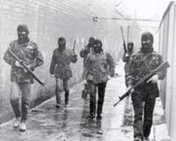 the first anniversary of the Good Friday Agreement