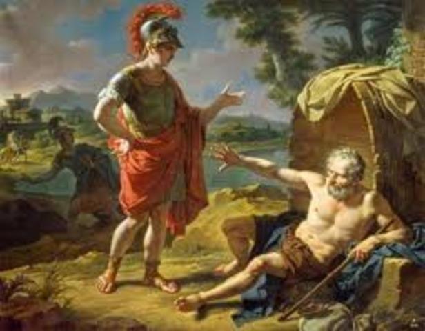 Antigüedad clásica sigloV a.c , Diogenes de Sinope