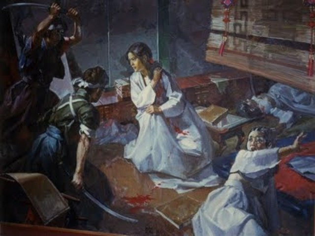 Assassination of Queen Min