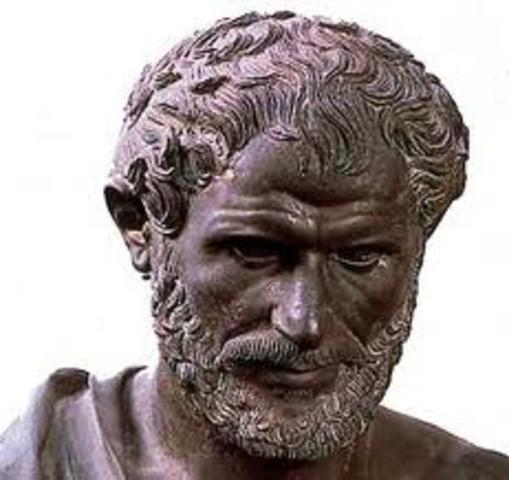 Antigüedad clásica sigloV a.c . Aristóteles