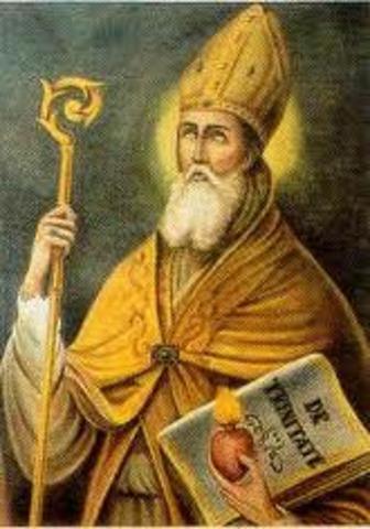 Edad media, San Agustín