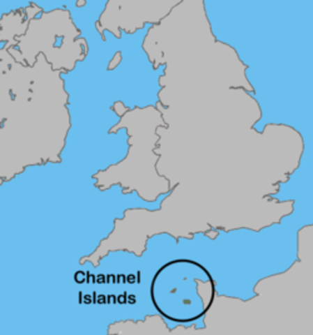 Germany Bombs British Channel Islands