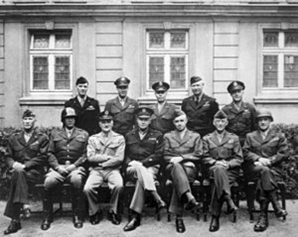 American Troops Arrive In Europe