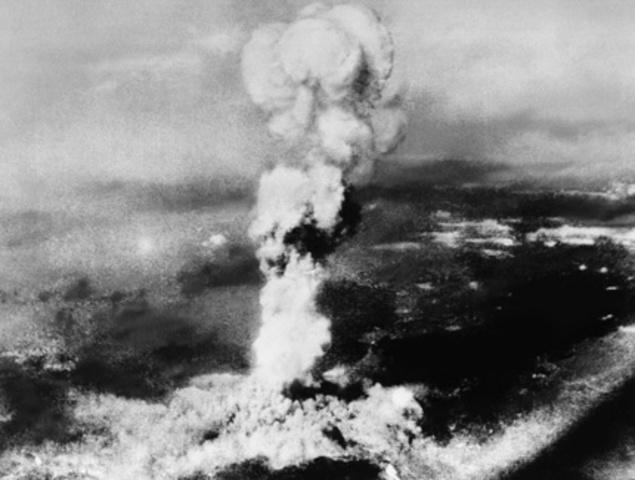 United States Drops Atomic Bomb On Hiroshima
