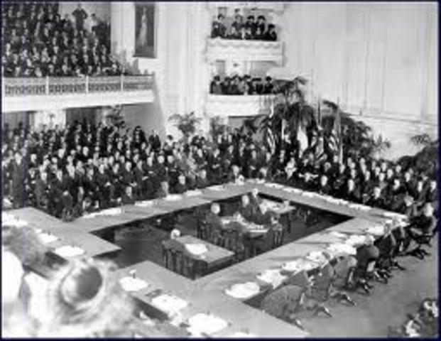 Treaty Of Versailles Signed Paris