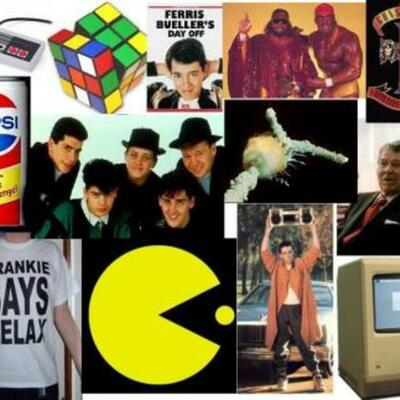 The 1980's timeline