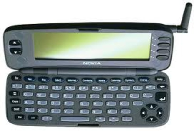 Nokia introduced the first smart phone