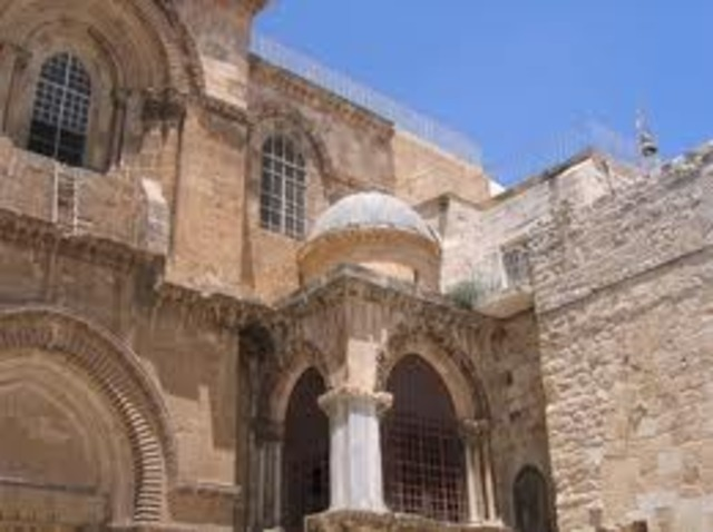 Contruction of the Holy Sepulchre