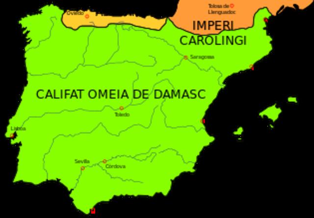 Comencen les conquestes cristianes. Conquesta de Girona.