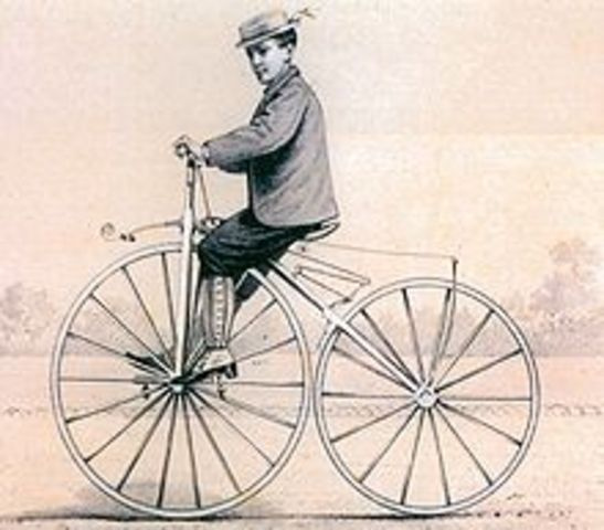 First bicycle was introduced