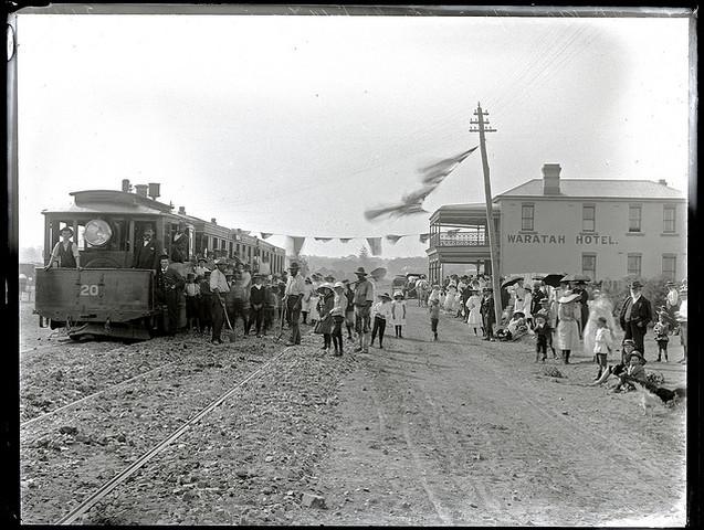 Steam trams