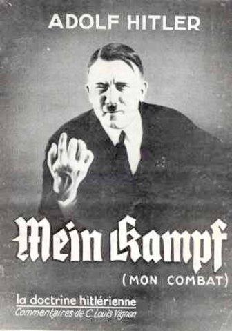 Writing of Mein Kampf