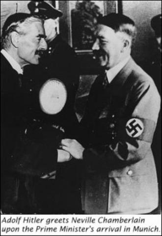 Taking of Sudetenland