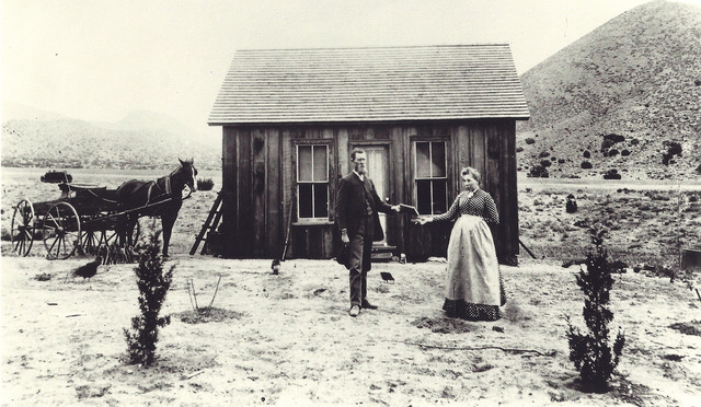 First telephone in Valley Center is installed in general store