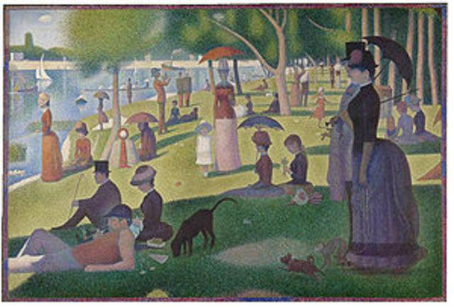 Neo-Impressionism (1880-1920 AD)
