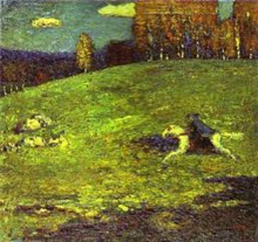 Blaue Reiter, Der (1911-1914 AD)