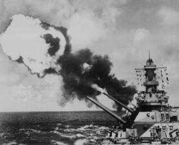 North Vietnamese Attack U.S Destroyers