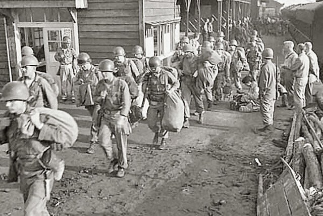 The First U.S Combat Troops Arrive