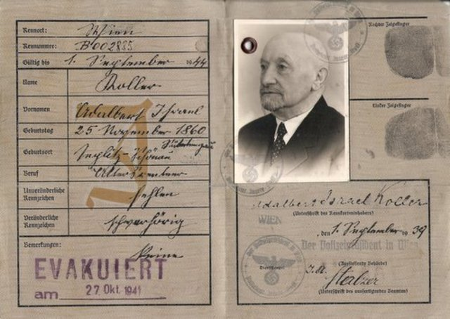 Nazis Order Jews Over Age 15 to Apply for Identity Cards