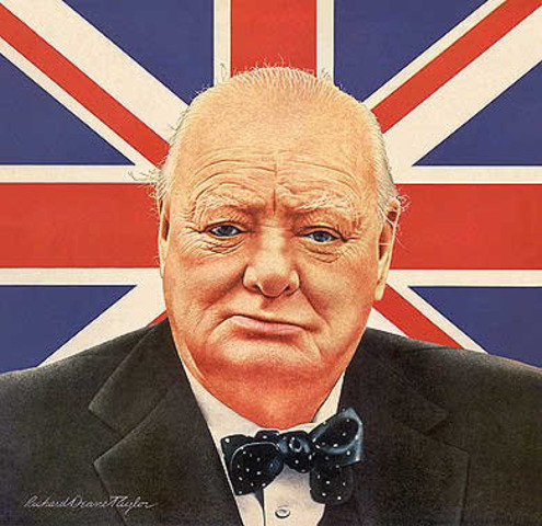 Winston Churchill becomes the Prime Minister of Great Britain.