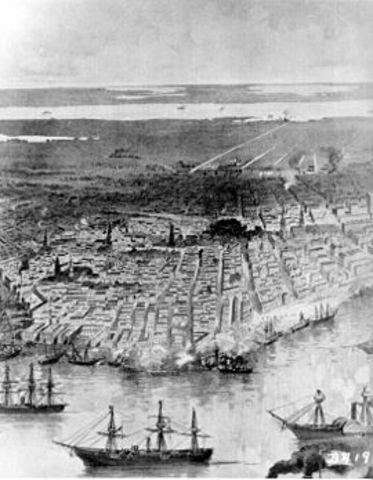 Union Captures New Orleans