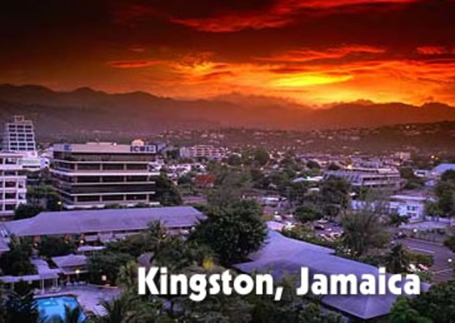 Kingston became the capital of Jamaica