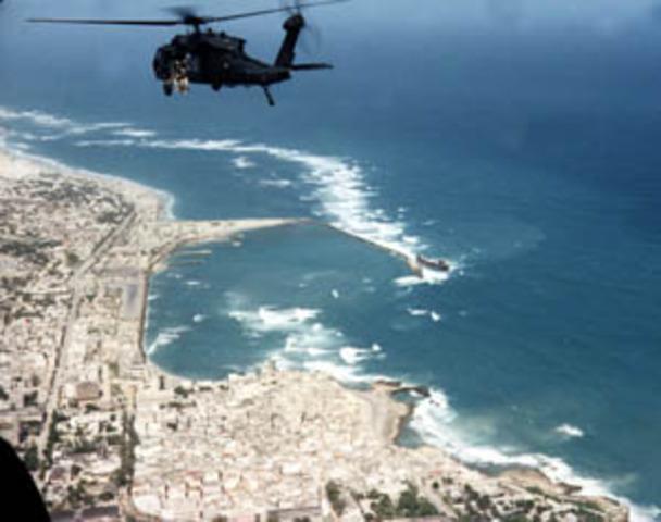 First battle of Mogadishu (Black Hawk Down)