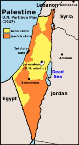 UN Partition Plan for Palestine
