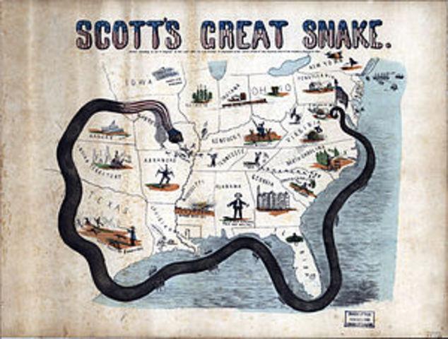 General Winfield Scotts Plan (Anaconda Plan)
