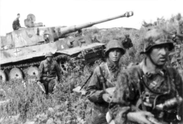 The beginning of the Battle of Kursk