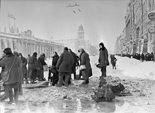 The beginning of the Leningrad Blockade