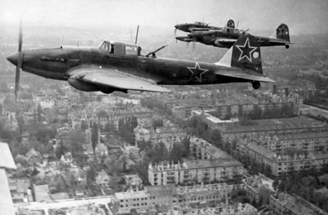 The beginning of the Battle of Berlin
