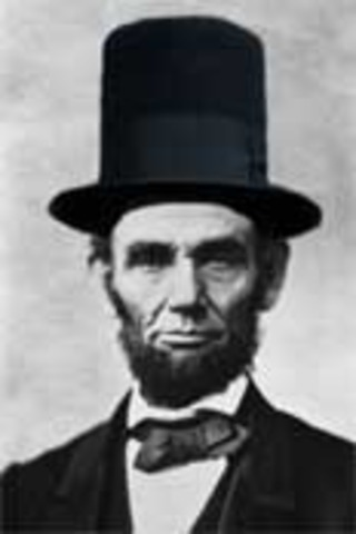 Lincoln is elected (2nd term)