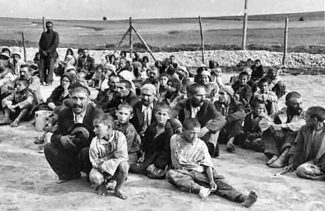 Gypsies Sent to Camps