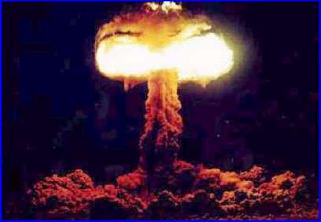 First detonization of the atomic bomb