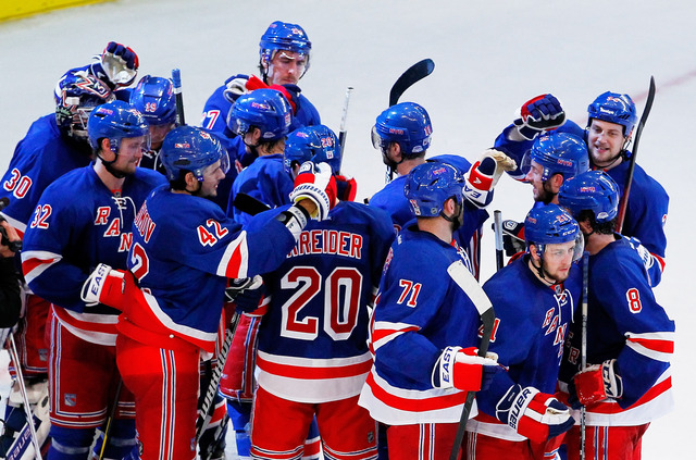 Rangers clinch top-seed in the Eastern Conference
