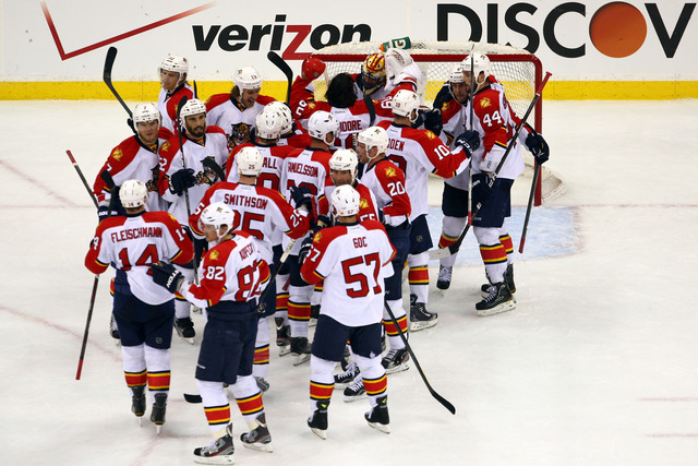 Panthers win first playoff game in 15 years