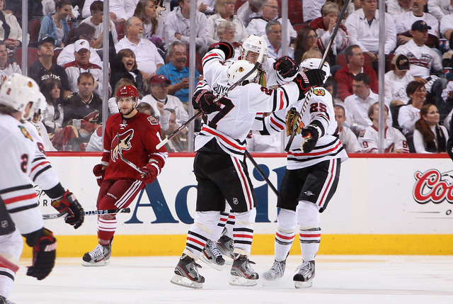 Blackhaws-Coyotes series ties NHL overtime record
