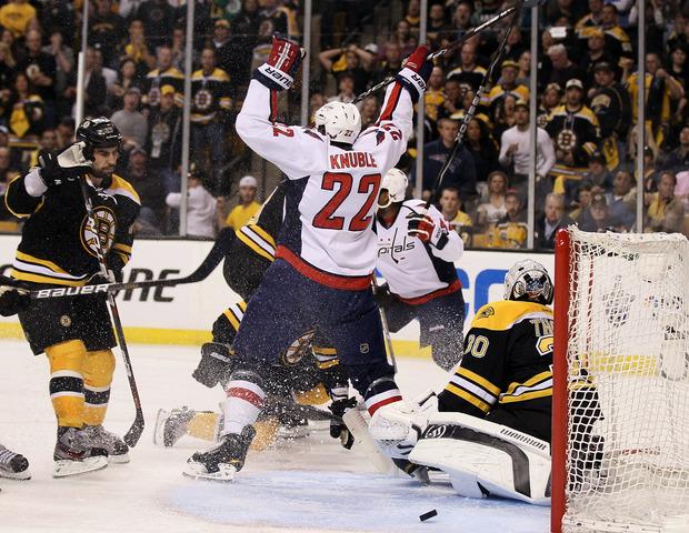 Capitals eliminate defending champion Bruins