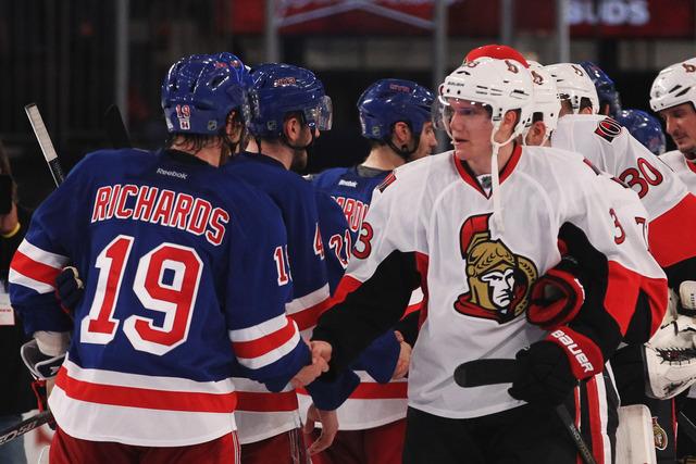 Rangers advance past Ottawa