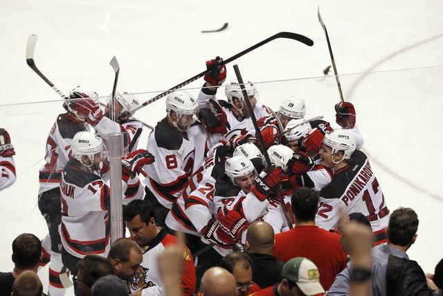 Devils knockout Florida in 7