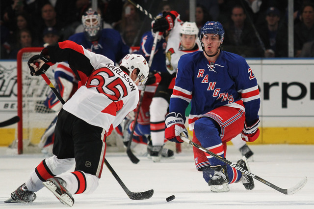 Rangers block their way to conference semifinals