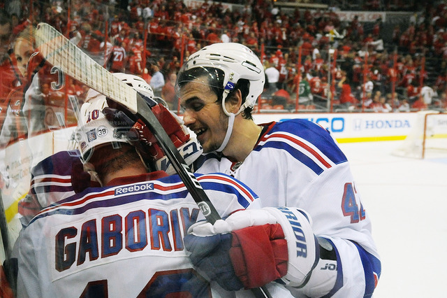Rangers need third overtime to take game 3
