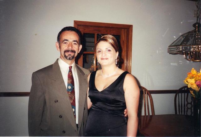 Parents got married