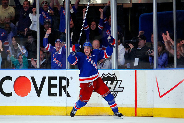 Rangers win second consecutive game 7 of playoffs