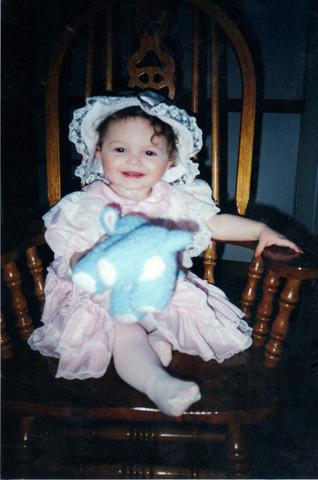 My sister Elizabeth was born.