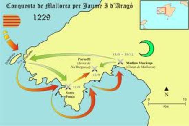 •Any 1229: Conquesta de Mallorca